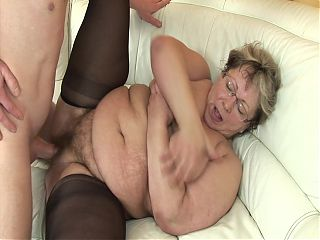 Old granny couple sex