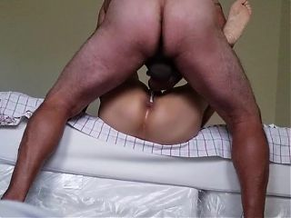 Black cock fucking old woman